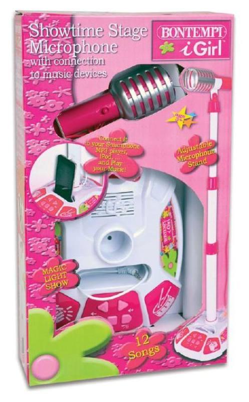 microfono giocattolo bambina bontempi